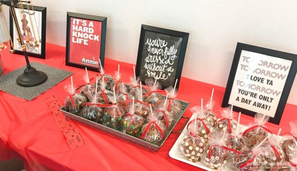 Avery's Annie Themed Birthday Party  Lots Of Ideas