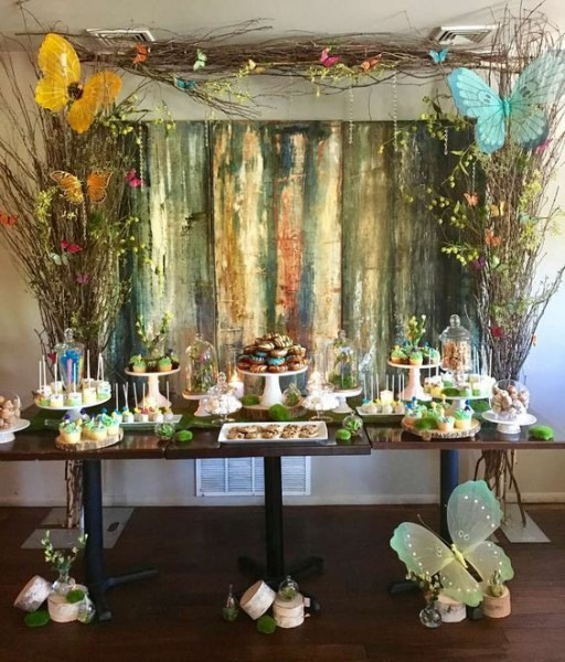 Enchanted Forest Baby Shower Party Ideas In 2019