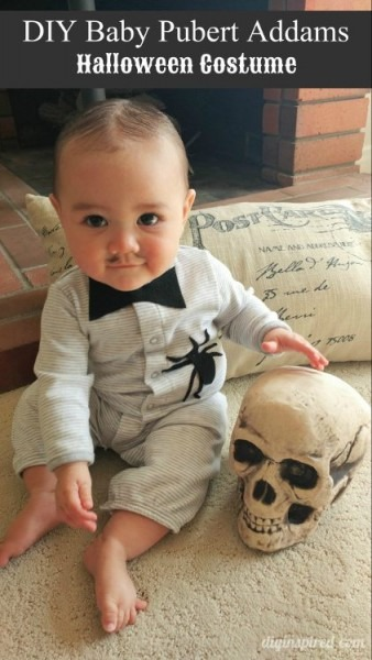 Diy Baby Pubert Addams Halloween Costume