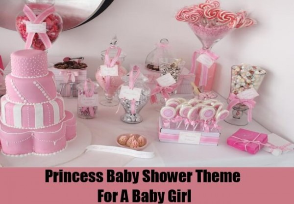 Baby Shower Princess Theme