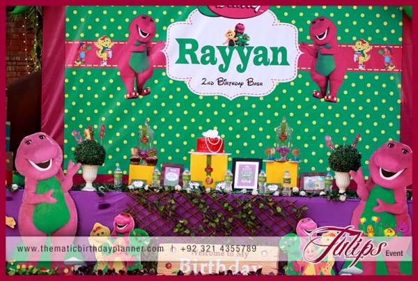 Barney Party Theme Ideas Planner In Pakistan