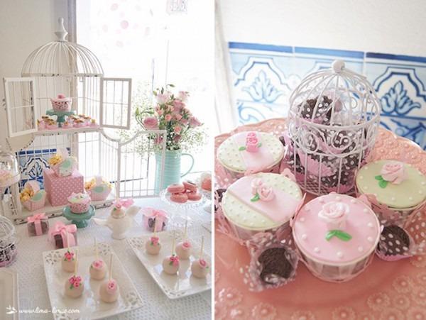 Kara's Party Ideas Bird Themed Baptism Party