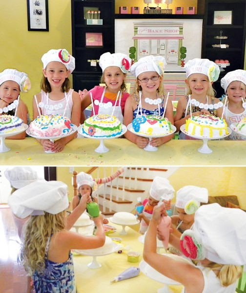 Sweet  Cake Boss  Baking Birthday Party    Hostess With The Mostess®