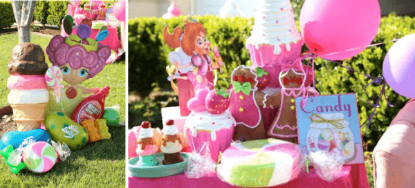 Kara's Party Ideas Candy Land Game Sweets Boy Girl 2nd Birthday