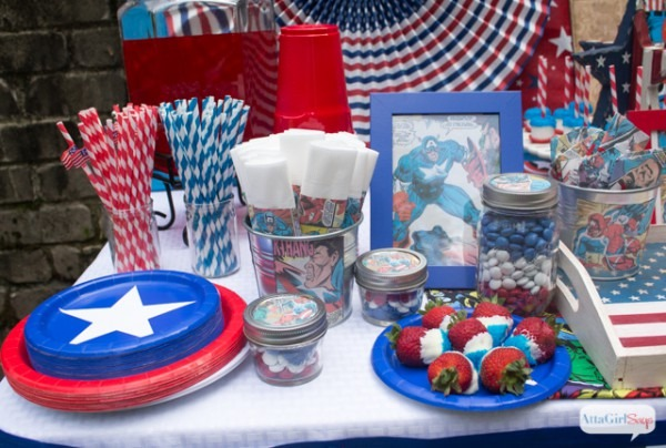 Captain America Party Ideas For Kids (and Adults)