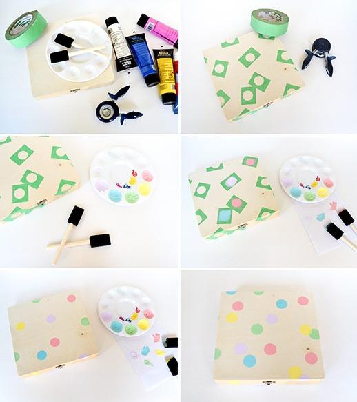 Diy Confetti Birthday Box