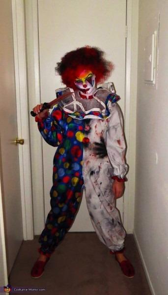 Creepy Clown Costume Diy