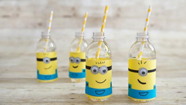 Diy Party Decor  Despicable Me Minion Water Bottle Labels