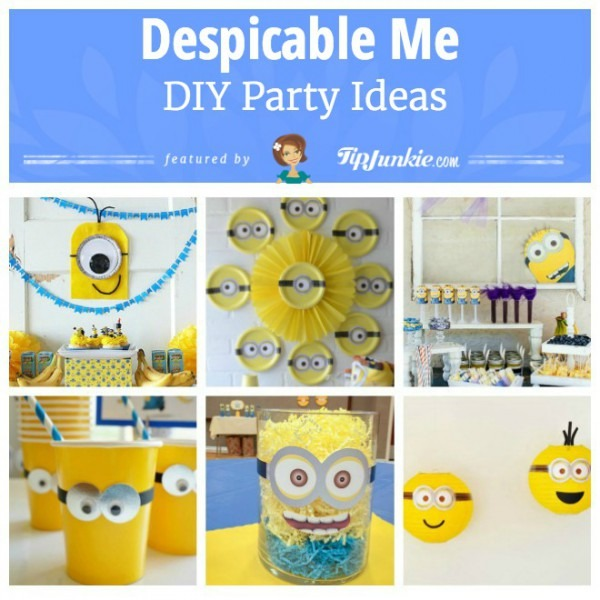 38 Fun Despicable Me Party Ideas [easy] – Tip Junkie