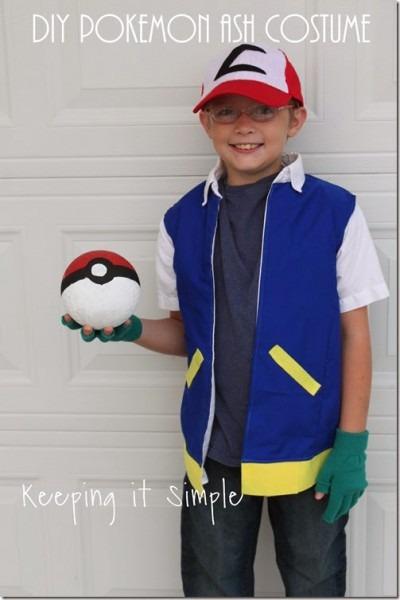 Diy Pokemon Ash Costume • Keeping It Simple