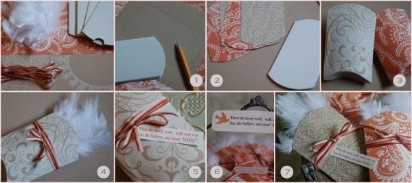 Diy Wedding Pillow Boxes