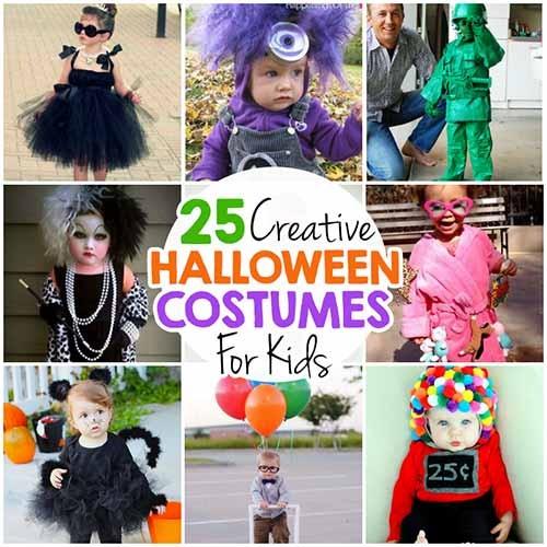 25 Creative Diy Halloween Costumes For Kids