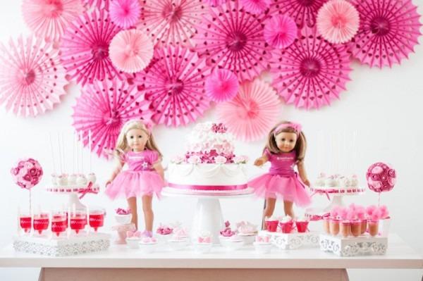 Kara's Party Ideas American Girl Doll Ninth Birthday Party {decor