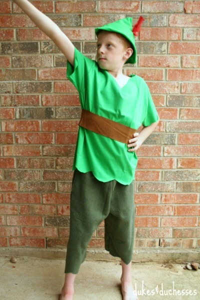 No Sew Diy Peter Pan Costume Ideas & Pattern + How To Make The Hat