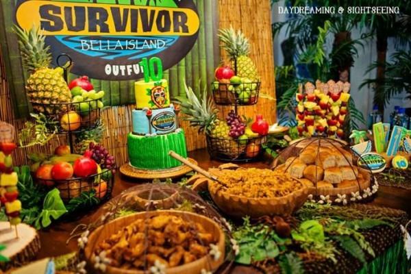 Survivor Party Planning Ideas Supplies Idea Cake Decorations