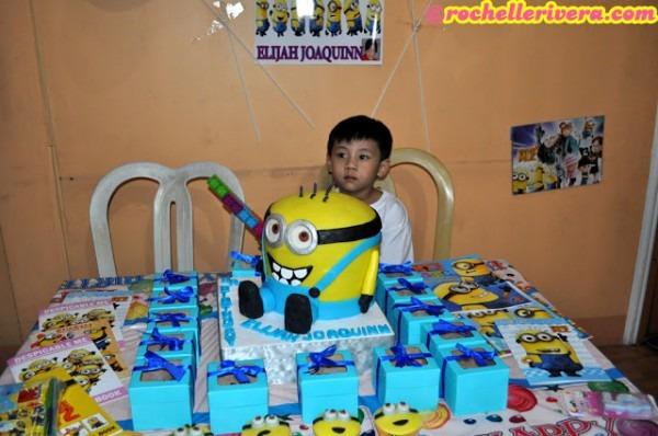 Elijah's Minion Themed 5th Birthday Party ♥
