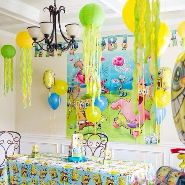 Spongebob, Spongebob Party, Spongebob Decor, Diy Jellyfish, Party