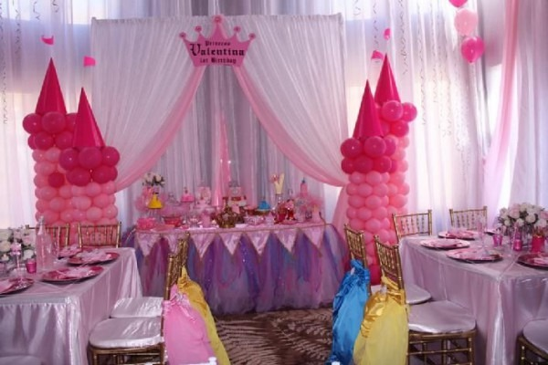 Princess Theme Party, Once Upon A Time Children Chiavari Chairs