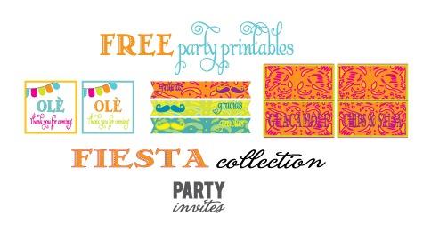 Cinco De Mayo Party {free Printables}