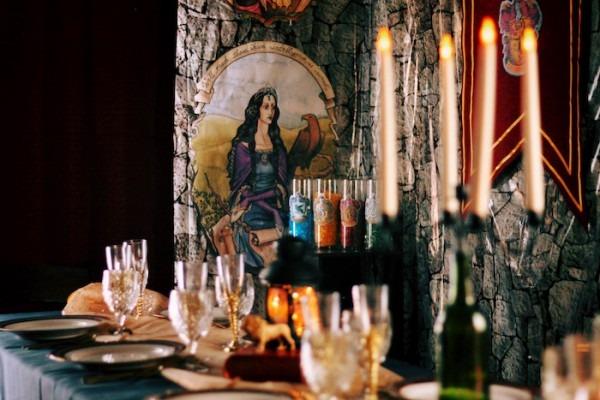 Kara's Party Ideas Hogwarts Alumni Dinner Party