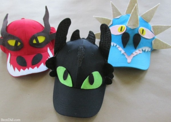 How To Train Your Dragon  Diy No Sew Dragon Wings