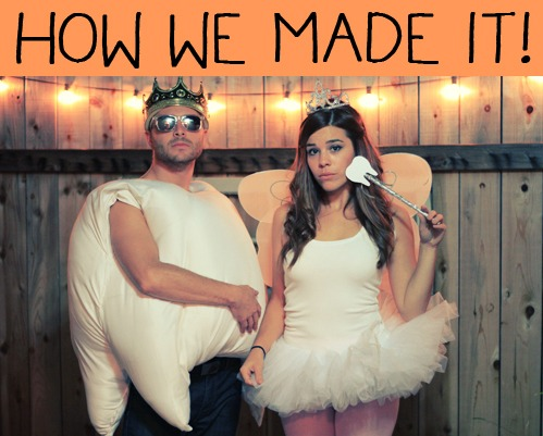 Tooth + Tooth Fairy Costume Diy Tutorial – Unblushing