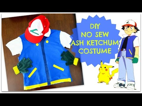 Diy No Sew Pokemon Trainer
