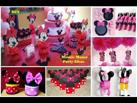 Diy Minnie Mouse Party Ideas   30 Ideas Para Fiesta De Minnie