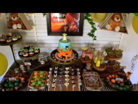 Lion King First Birthday Party Via Little Wish Parties Childrens