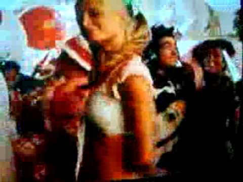 Paris Hilton Dancing With The Cat In The Hat
