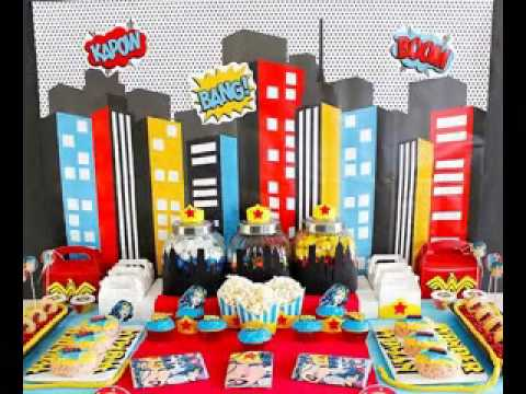 Superhero Party Decorating Ideas