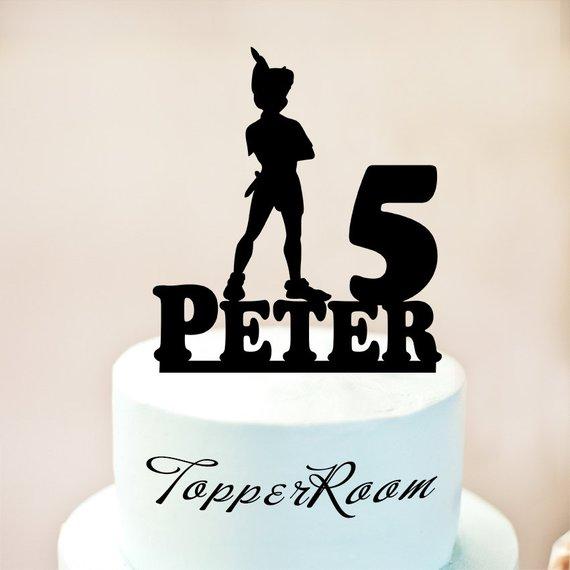 Peter Pan Cake Topperpeter Pan Birthday Cake Toppercustom