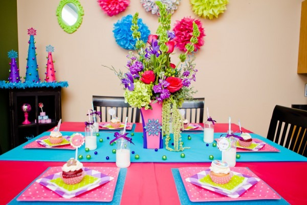 Kara's Party Ideas Merry + Bright Colorful Holiday Children's