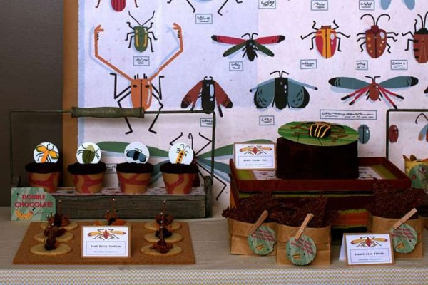 Bugs And Insects Birthday Party Ideas