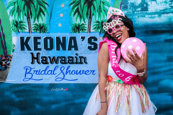 Keona's Hawaiian Themed Bridal Shower