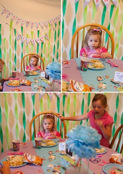 My Belle Michelle » Elena's Mermaid Birthday Party {girl Birthday