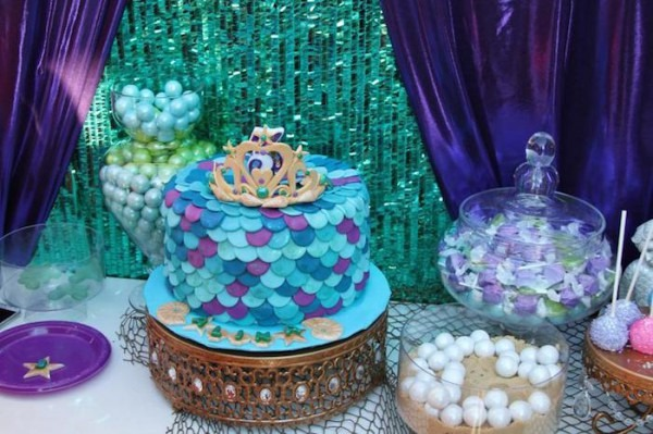 Kara's Party Ideas Little Mermaid Birthday Party {ideas, Decor