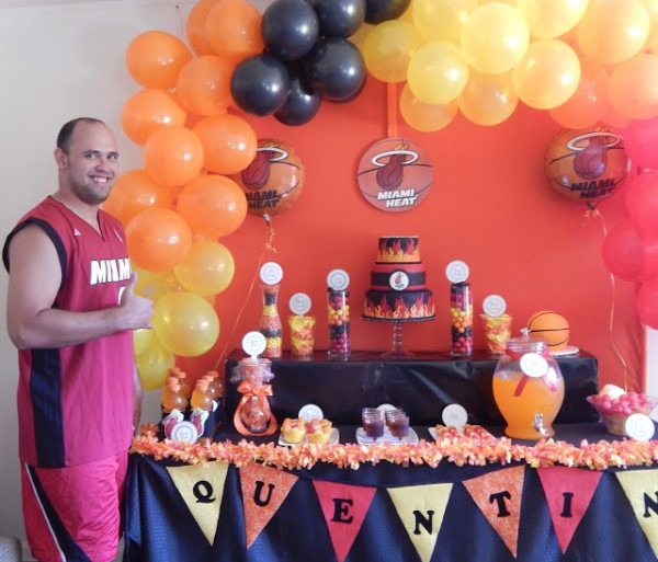 Miami Heat Party – Say It With Cake