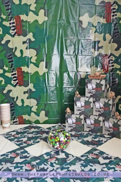 Army Themed Party Decoration Ideas