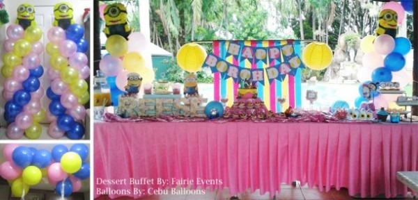 Minions Theme Birthday Party At Meritz Resort