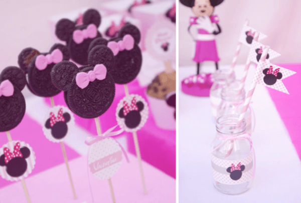 Kara's Party Ideas Disney Minnie Mouse Girl Pink 2nd Birthday