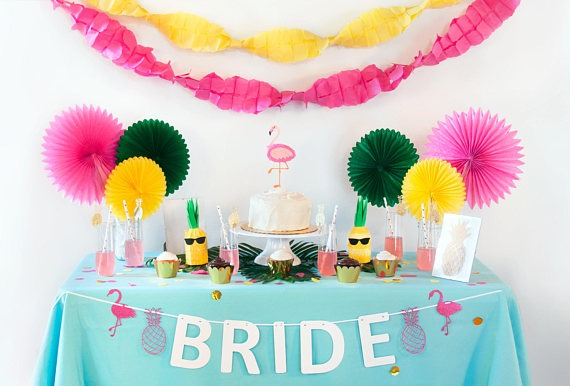 Flamingo Bridal Shower Ideas