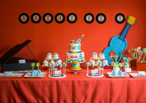 Baby Jam Music Inspired 1st Birthday Party