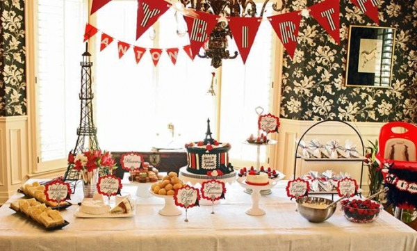 Kara's Party Ideas Parisian Birthday Party Planning Ideas Supplies