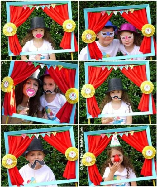 Under The Big Top  Circus Party Ideas