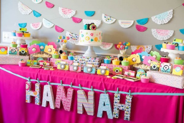 Kara's Party Ideas Photography + Instagram Camera Themed Birthday