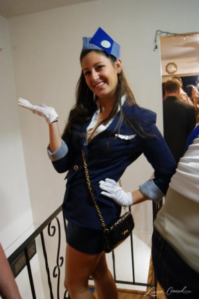 Halloween Diy  Pan Am Air Stewardess Costume