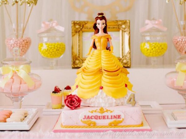 Kara's Party Ideas Princess Belle Inspired Beauty And The Beast