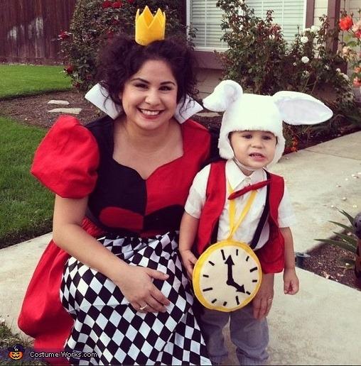 Queen Of Hearts & White Rabbit Halloween Costume
