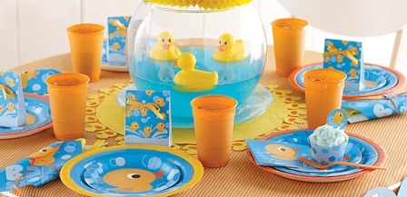 Rubber Ducky Party Supplies For Baby Shower Themes At Mtrade
